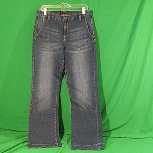 Banana republic sz 31/12 trouser jeans straight
